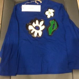 Marni Blouse with Flower Graphic